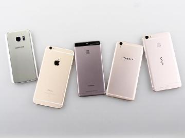 全球智慧手機前五強洗牌 OPPO與vivo首度入榜