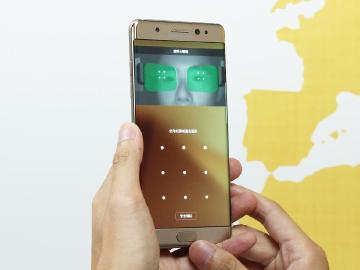 三星Note 7安全防護升級 虹膜、指紋辨識實測