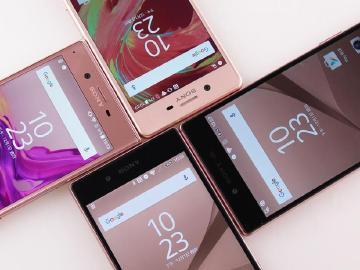 粉色奇遇!Sony XZ、X Performance、Z5 Premium與Z5