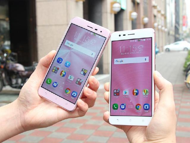華碩ZenFone 3 ZE552KL與Zoom 粉色雙機搶先開箱