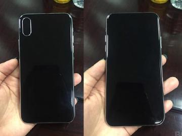 iPhone 8清晰外觀照 前後雙玻璃機身亮相