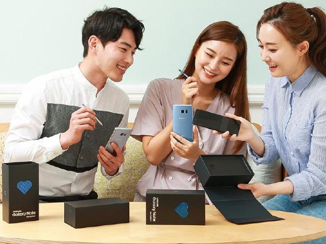 三星Note 7翻新Note Fan Edition韓國限量推出